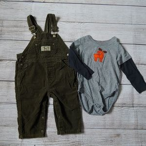 BOYS OUTFIT 24MO